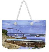 Jefferson Barracks Bridge A View From Cliff Cave Weekender Tote Bag