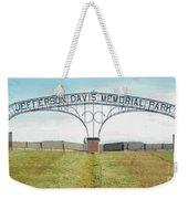 Jefferson  Davis Memorial Park Weekender Tote Bag