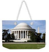 Jefferson Memorial Weekender Tote Bag