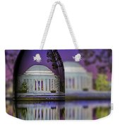 Jefferson Memorial In A Bottle Weekender Tote Bag