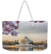 Jefferson Memorial In The Early Morning Weekender Tote Bag