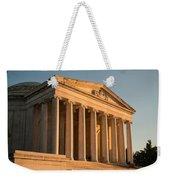 Jefferson Memorial Sunset Weekender Tote Bag by Steve Gadomski