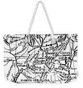 Jefferson: States, 1784 Weekender Tote Bag