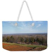 Jefferson's View From Monticello Weekender Tote Bag