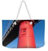 Jeffrey's Hook Lighthouse I Weekender Tote Bag