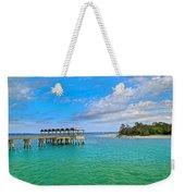 Jekyll Island Just Like Paradise Weekender Tote Bag