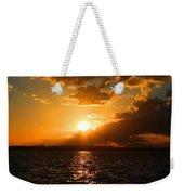 Jekyll Sunset Weekender Tote Bag