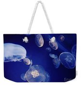 Jelly Fish Weekender Tote Bag by John Malone