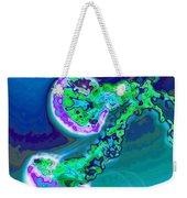 Jelly Fish Pop Art Blue Weekender Tote Bag