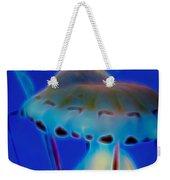 Jellyfish 2 Digital Artwork Weekender Tote Bag