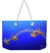 Jellyfish 7 Weekender Tote Bag