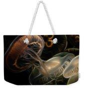 Jellyfish Digital Art Weekender Tote Bag