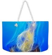 Jellyfish Fractal Weekender Tote Bag