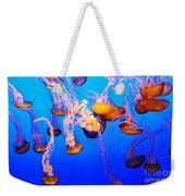 Jellyfish In Abundance Weekender Tote Bag