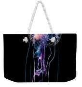 Jellyfish  Pelagia Noctiluca  With Fish Weekender Tote Bag