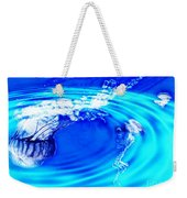Jellyfish Pool Weekender Tote Bag