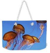 Jellyfish Swarm Weekender Tote Bag