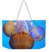 Jellyfish Trio Weekender Tote Bag