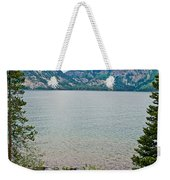 Jenny Lake In Grand Tetons National Park-wyoming  Weekender Tote Bag