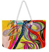 Jenny's Dragonfly In Acrylic Weekender Tote Bag
