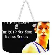 Jeremy Lin New York Knicks Season Weekender Tote Bag