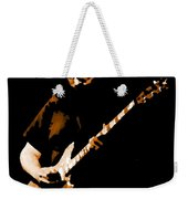 Jerry And His Guitar Weekender Tote Bag