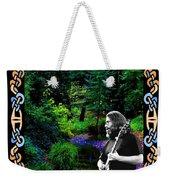 Jerry At Psychedelic Creek Weekender Tote Bag