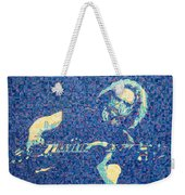 Jerry Garcia Chuck Close Style Weekender Tote Bag