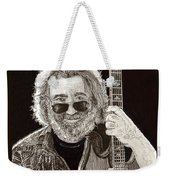 Jerry Garcia String Beard Guitar Weekender Tote Bag