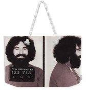 Jerry Garcia Mugshot Weekender Tote Bag