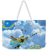 Jerry In The Sky With Love Weekender Tote Bag