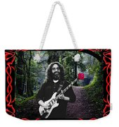 Jerry Road Rose 2 Weekender Tote Bag