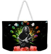 Jerry Spacepods Ufo Roses Under Cosmic Sun Weekender Tote Bag