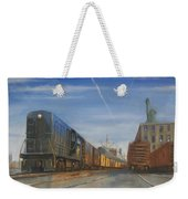 Jersey Central Lines Weekender Tote Bag