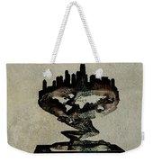 Jersey City Skyline Weekender Tote Bag