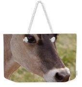 Jersey Cow Portrait Weekender Tote Bag