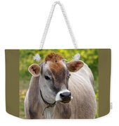 Jersey Cow With Attitude - Vertical Weekender Tote Bag
