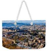 Jerusalem Weekender Tote Bag