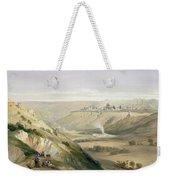 Jerusalem April 5th 1839 Weekender Tote Bag by David Roberts