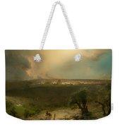 Jerusalem From The Mount Of Olives Weekender Tote Bag