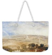 Jerusalem From The Mount Of Olives Weekender Tote Bag by Joseph Mallord William Turner
