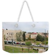 Jerusalem Near New Gate Weekender Tote Bag