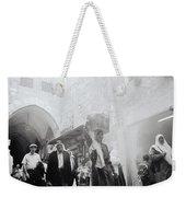 Old City Of Jerusalem Weekender Tote Bag