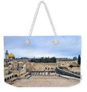 Jerusalem The Western Wall Weekender Tote Bag
