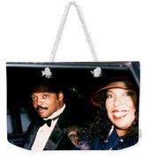 Jesse Jackson-roberta Flack 1989 Weekender Tote Bag
