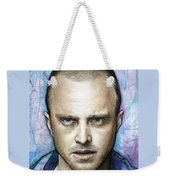 Jesse Pinkman - Breaking Bad Weekender Tote Bag by Olga Shvartsur
