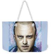 Jesse Pinkman - Breaking Bad Weekender Tote Bag by Olga Shvartsur
