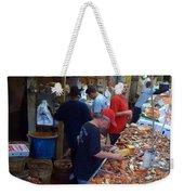 Jessie's Cooked Seafood  Weekender Tote Bag