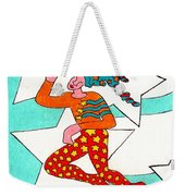 Jester With Cake Weekender Tote Bag