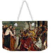 Jesus And The Centurion Weekender Tote Bag